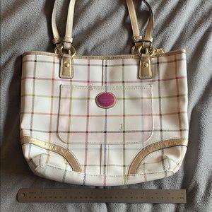 Coach Medium Multicolor Shoulder Bag